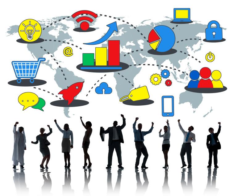 la diffusione dei contenuti attraverso canali diversi